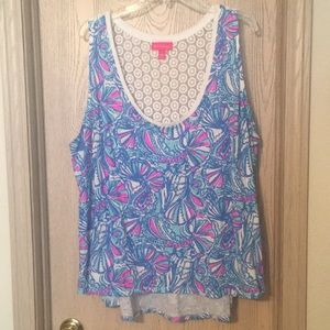 Lilly Pulitzer for Target Plus Size Tank Top